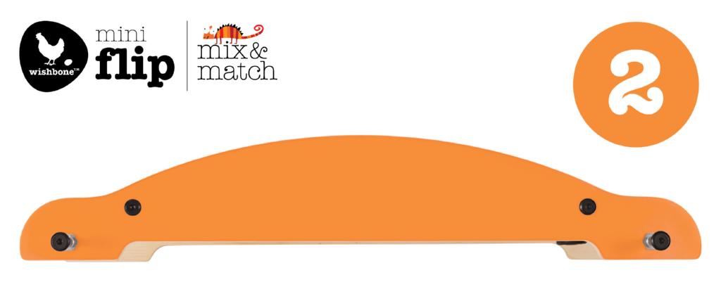AHRNA - Wishbone Mini-Flip Base orange