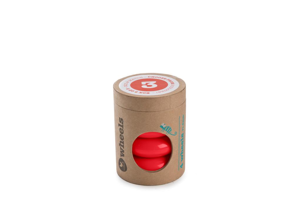 AHRNA - Wishbone Mini-Flip Rollen rot